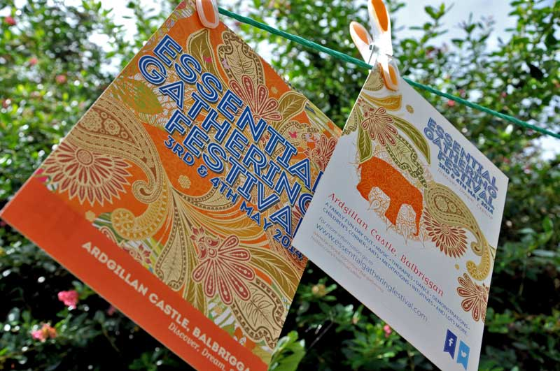 Essential Gathering Festival Flyers - Visual Communication