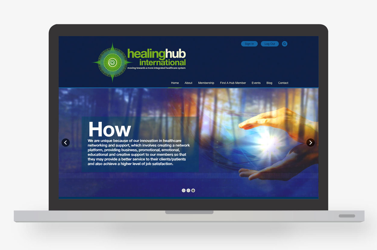 Healing Hub International Home Page