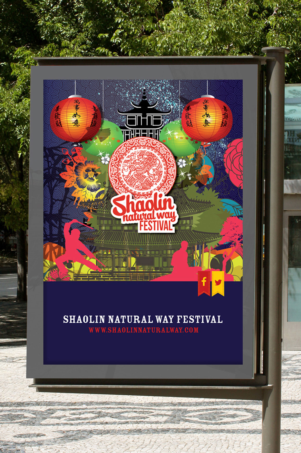 Shaolin Natural Way Festival Advertisement