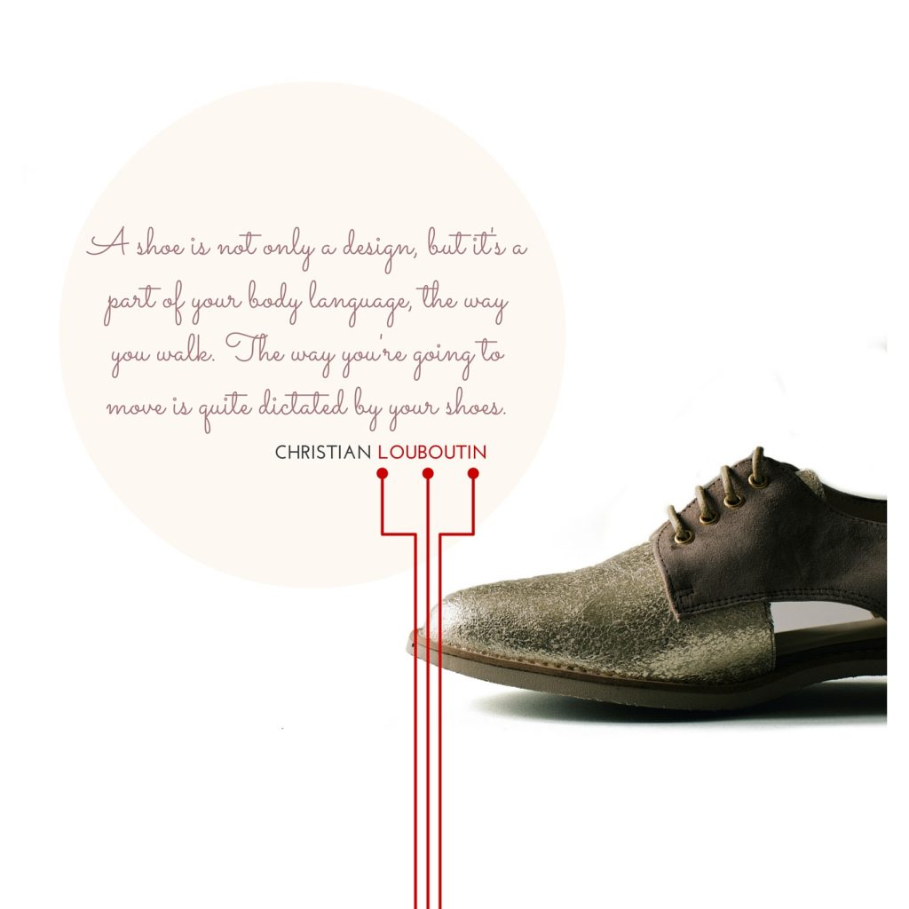 Christian Louboutin Quote -Chris Flynn Design