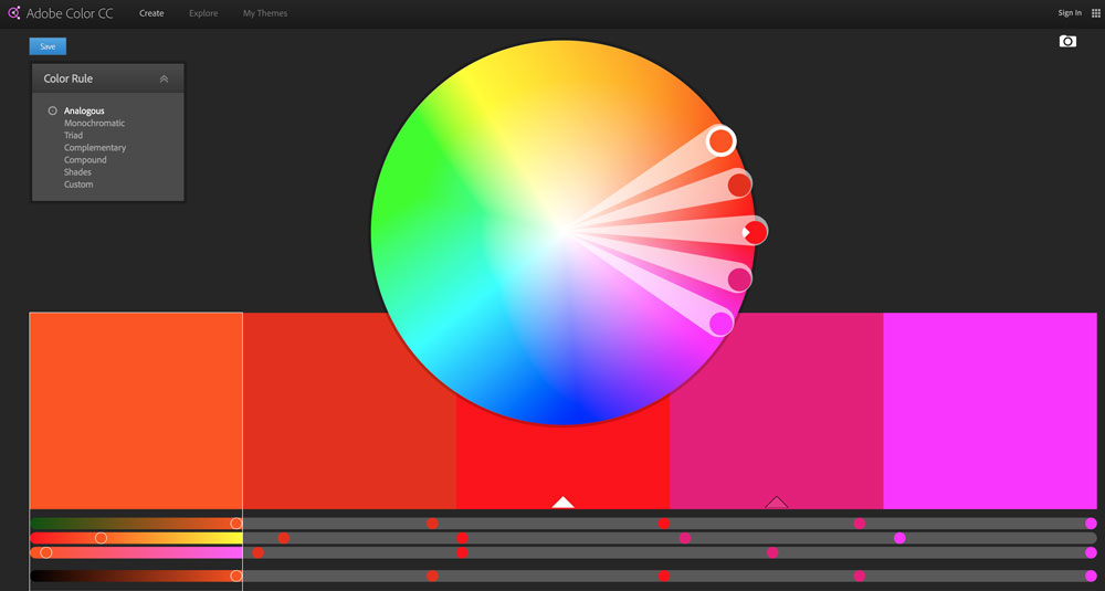 Adobe Colour Tools