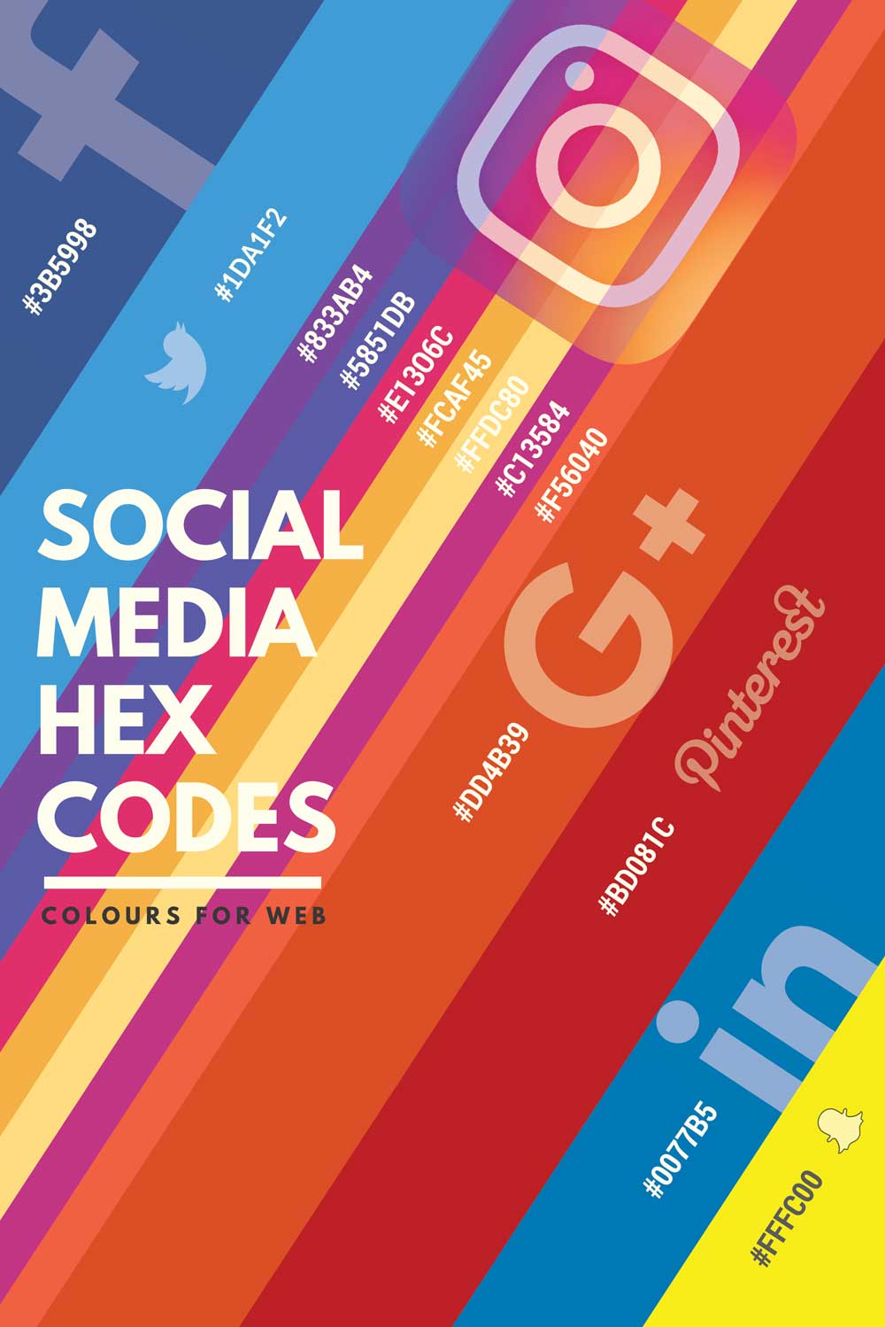 Social Media Hex Guide and Brand Assets